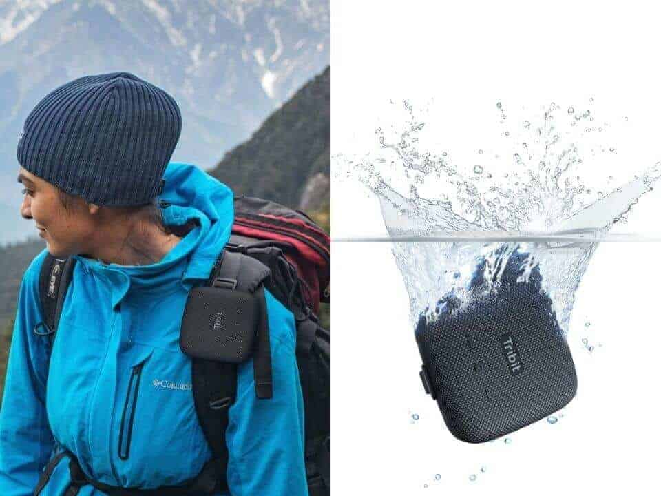 stormbox micro in water