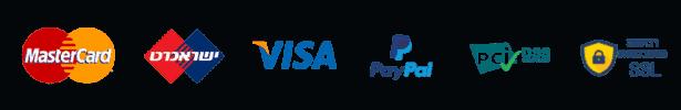 לוגו תשלום ואבטחה לאתר